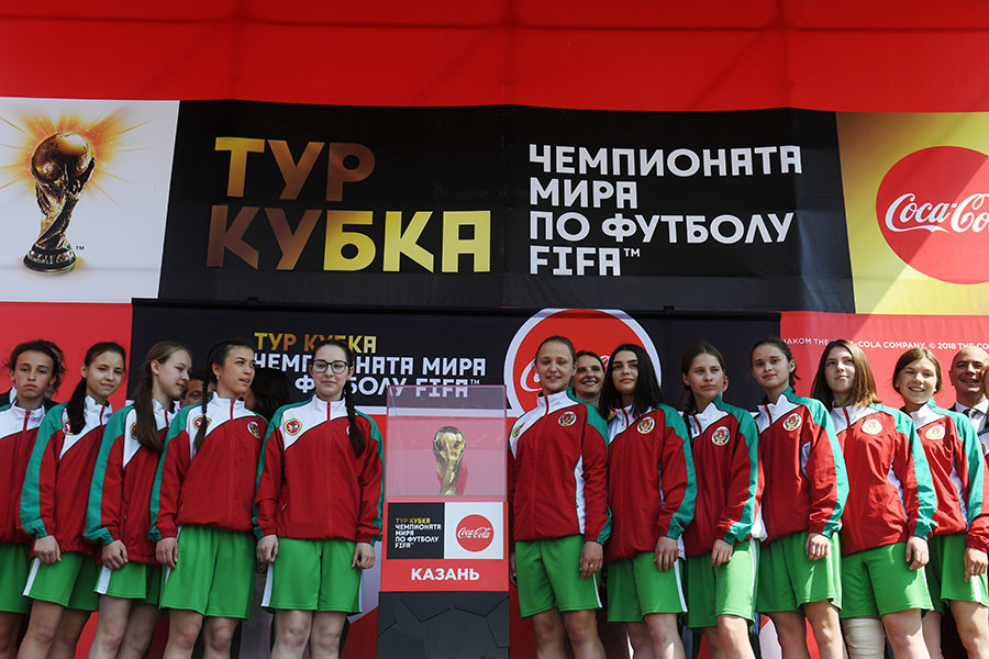 The Cadets female team from the town of Agryza, Republic of Tatarstan
