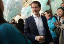 File photo of Austrian Chancellor Sebastian Kurz, who introduced the measure in 2015 when he was foreign minister.