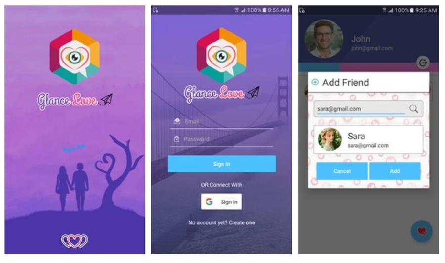 GlanceLove dating app