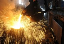 FILE PHOTO: A steel plant in Hefei, Anhui province, China / Reuters
