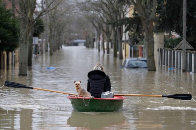 Villeneuve-Saint-Georges. Photo: AFP