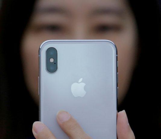 iPhone X presentation in Beijing, China October 31, 2017. © REUTERS/Thomas Peter