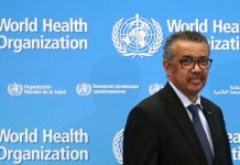 Director-General of the WHO Tedros Adhanom Ghebreyesus. © REUTERS/Denis Balibouse/File Photo
