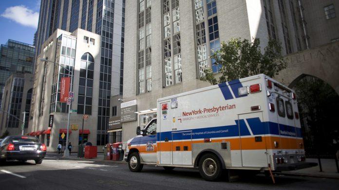 The New York Presbyterian Hospital © Reuters / Allison Joyce