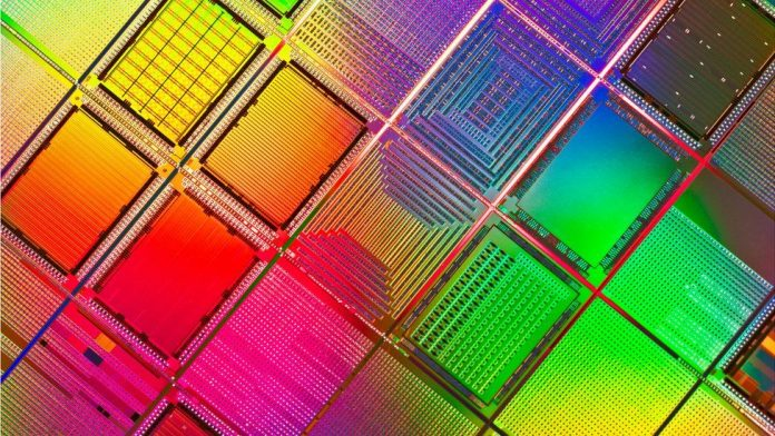 Silicon wafers like these are made in a process measured in nanometres - and IBM says it has cracked the smallest one yet